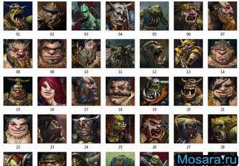 Игровые фэнтезийные аватарки: mosara.ru/?rev=246