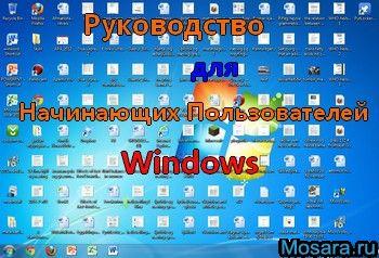 Руководство для чайников Windows
