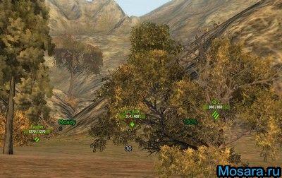 Убирает затемнение в снайперском режиме