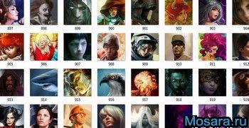Большая коллекция аватаров