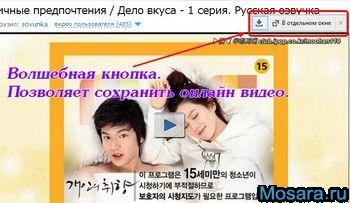 Как сохранить видео из myvi.ru